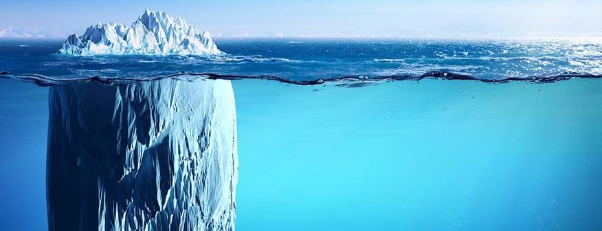iceberg banner